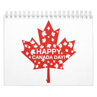 Canada Day Celebration Calendar