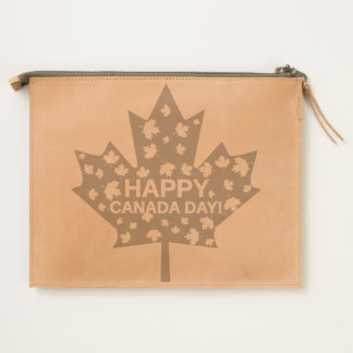 Canada Day Celebration Travel Pouch