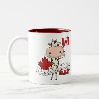 Canada Day Cow Coffee Mug
