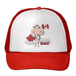 Canada Day Cow Trucker Hat