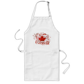 Canada Day Grungy Urban Aprons
