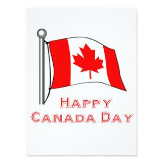 Canada Day 6.5x8.75 Paper Invitation Card