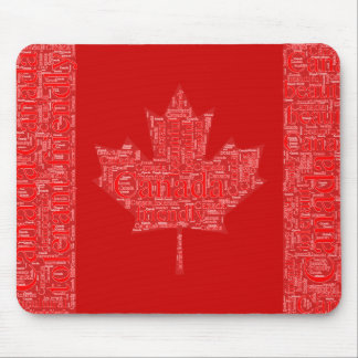 CANADA DAY JULY 1ST MOUSE MAT