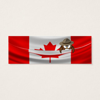 Canada Day Mini Business Card