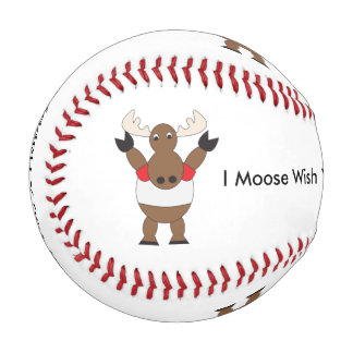 Canada Day Moose Baseball