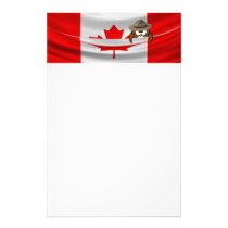 Canada Day owl Stationery