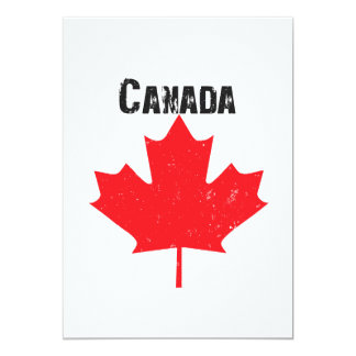 Canada Day Party Card