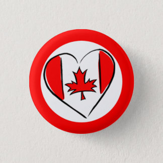 Canada Day! Pinback Button