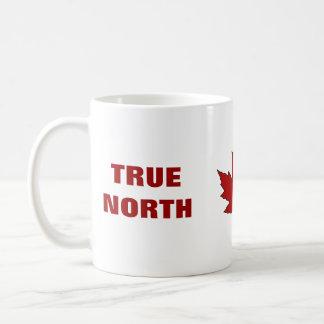 Canada Day Red Maple Leaf Anthem Coffee Mug