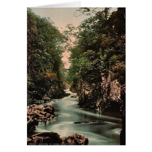 Cañada de hadas I, Bettws-y-Coed (es decir Betws), Tarjeta De Felicitación