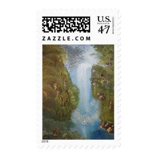 Cañada de la cascada sellos