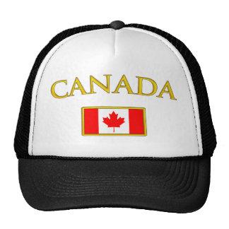 Canadá de oro gorros bordados