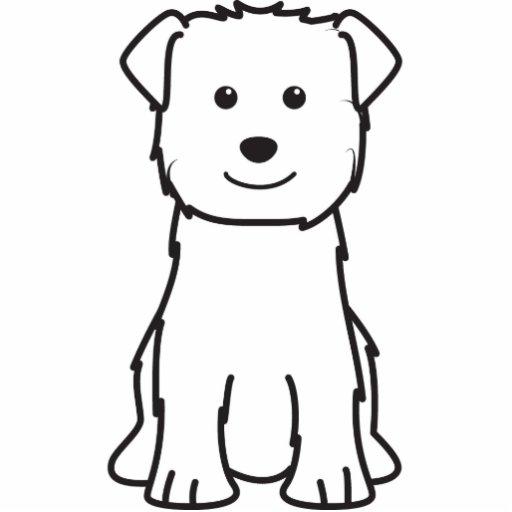 Cañada del dibujo animado del perro de Imaal Terri Esculturas Fotograficas