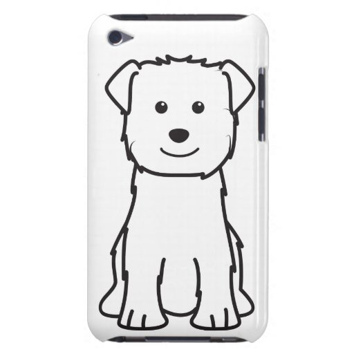 Cañada del dibujo animado del perro de Imaal Terri iPod Touch Cárcasas