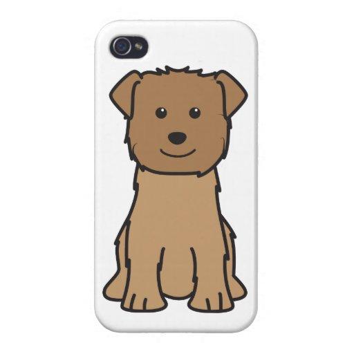 Cañada del dibujo animado del perro de Imaal Terri iPhone 4/4S Funda