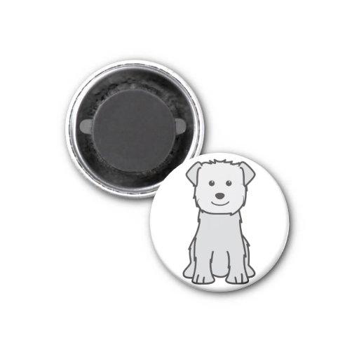 Cañada del dibujo animado del perro de Imaal Terri Iman De Nevera