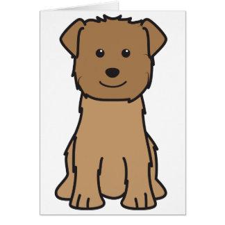 Cañada del dibujo animado del perro de Imaal Terri Tarjeta De Felicitación