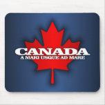 """Canadá """"del mar al mar """" tapetes de raton"""