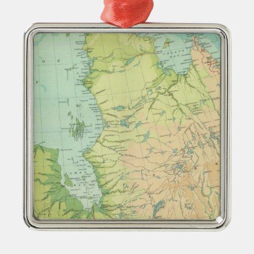 Canadá del noreste ornamentos de navidad
