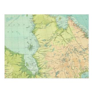 Canadá del noreste tarjeta postal