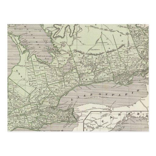 Canadá del oeste postal