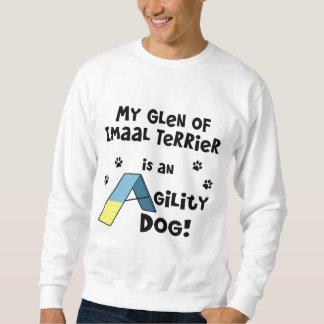 Cañada del perro de la agilidad de Imaal Terrier Sudadera