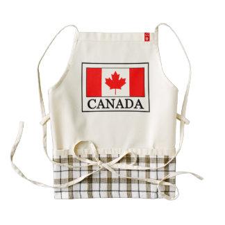 Canadá Delantal Zazzle HEART