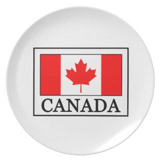 Canada Dinner Plate