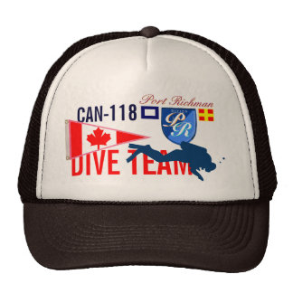 Canada Diving Dive Team CAN-118 Nautical Trucker Hat