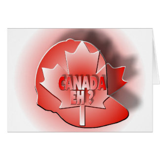 CANADA EH? CARD