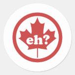 ¿Canadá Eh? Etiquetas