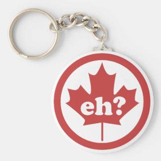 ¿Canadá Eh? Llavero Redondo Tipo Pin