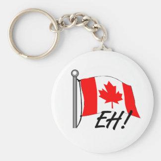 Canadá Eh Llavero Redondo Tipo Pin