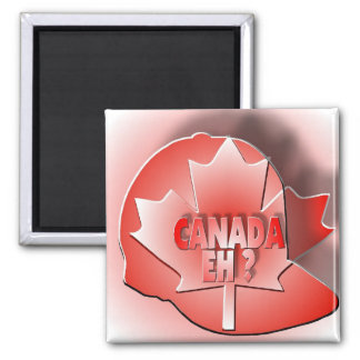 CANADA EH? 2 INCH SQUARE MAGNET