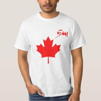 ¡Canadá Eh! Orgullo canadiense divertido Playera
