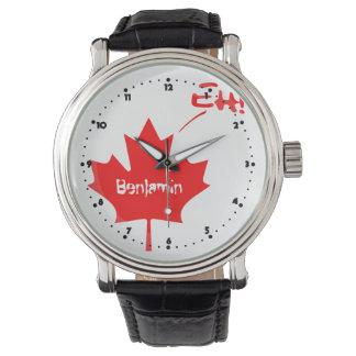 ¡Canadá Eh! Orgullo canadiense divertido Reloj
