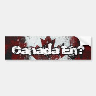 ¿Canadá Eh Pegatina para el parachoques Pegatina De Parachoque