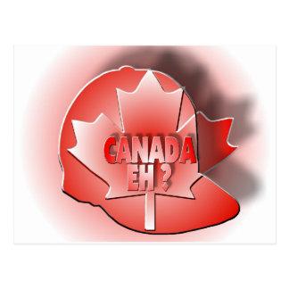 CANADA EH? POSTCARD