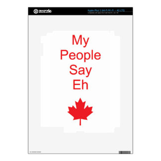 Canada eh skin for iPad 3