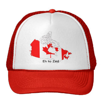 canada, Eh to Zed Trucker Hats