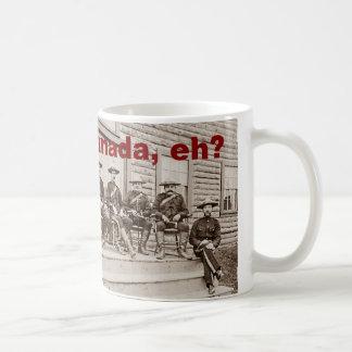 Canada Eh Vintage Mounties Photo Coffee Mug