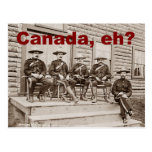 Canada Eh Vintage Mounties Photo Post Cards