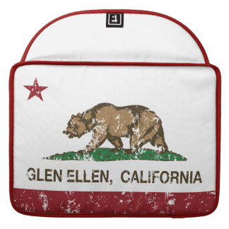 Cañada Ellen de la bandera de la república de Cali Fundas Macbook Pro
