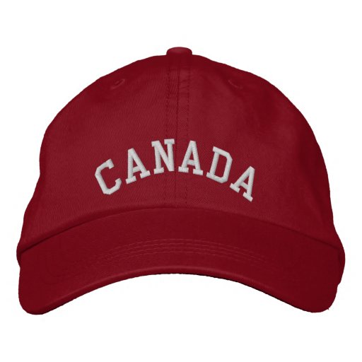 Canada Embroidered Baseball Cap/Hat Embroidered Baseball Hat