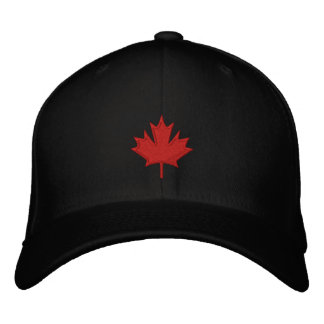 Canada Embroidered Baseball Hat
