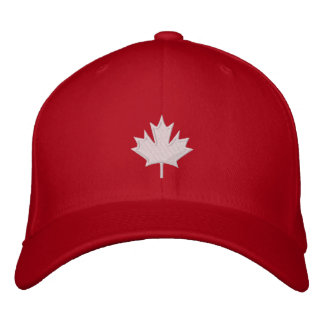 Canada Embroidered Baseball Caps