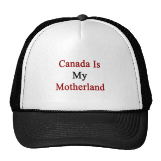 Canadá es mi patria gorro de camionero