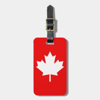 Canadá estableció el aniversario 1867 150 años etiquetas para maletas