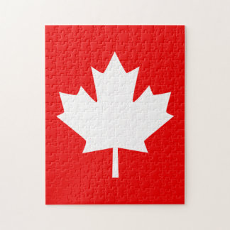 Canada Established 1867 Anniversary 150 Years Jigsaw Puzzle