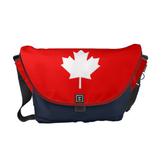 Canada Established 1867 Anniversary 150 Years Courier Bags